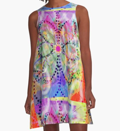 Splash A-Line Dress