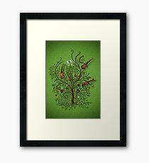 Orchestra (Green version) Framed Print