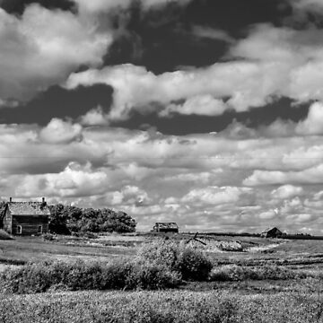 BnW country by ChicksPhoto