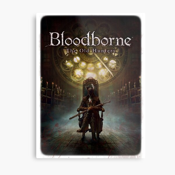 Bloodborne - Lady Maria and the Old Hunters Metal Print