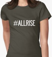 All Rise Aaron Judge Hashtag Womens Fitted T-Shirt