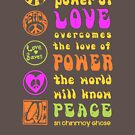 Power of Love Overcomes the Love of Power by dropSoul