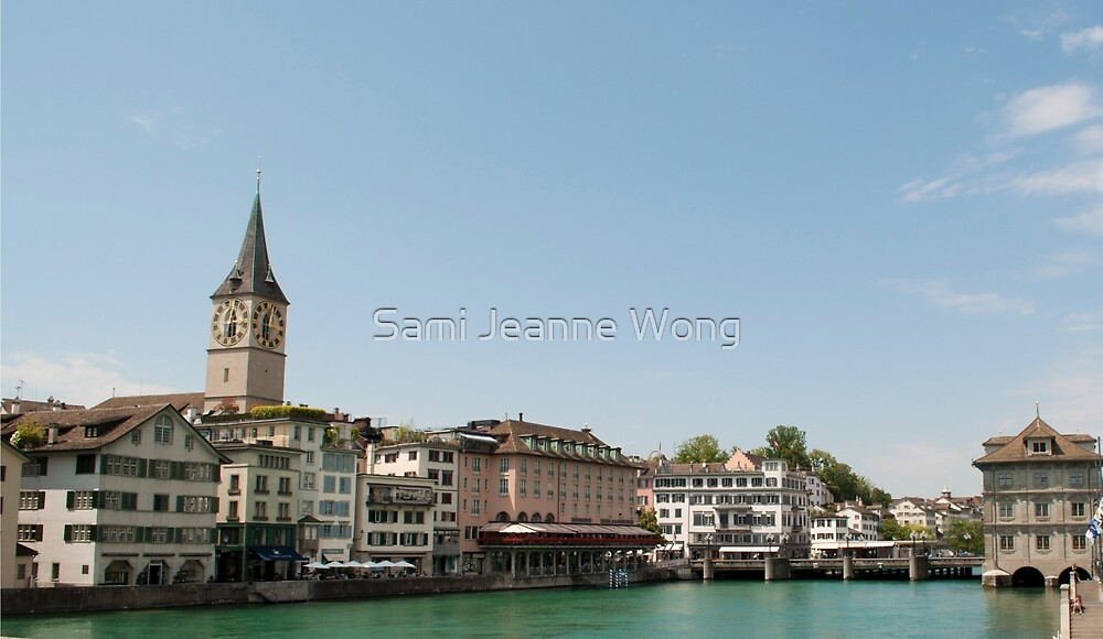 Clock on the Water by Sami Jeanne Wong