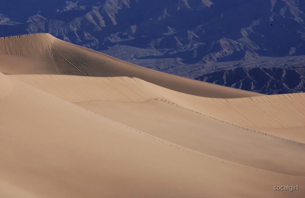 Sand Dunes - Death Valley by socalgirl