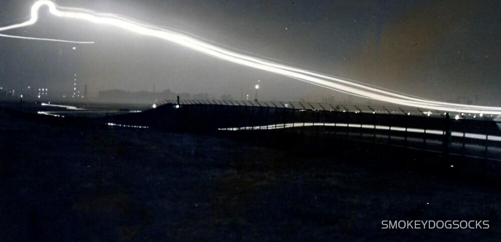 NIGHT FLIGHT LIGHTS by SMOKEYDOGSOCKS