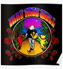FARE THEE WELL - ROSES Poster
