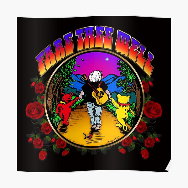 Grateful Dead Poster Peace Sign Highest Quality