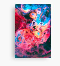 TIDEPOOL - Abstract, psychedlic Photoshop Canvas Print