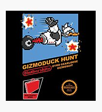 Gizmoduck Hunt Photographic Print