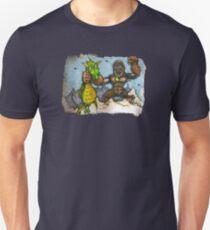 King Kong Vs. Floaty Unisex T-Shirt