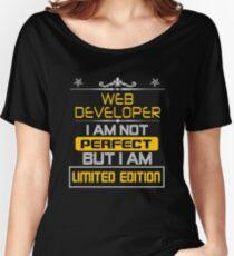 WEB DEVELOPER Women's Relaxed Fit T-Shirt