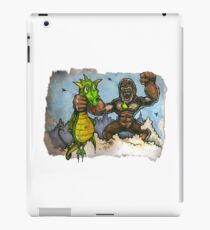 King Kong Vs. Floaty iPad Case/Skin