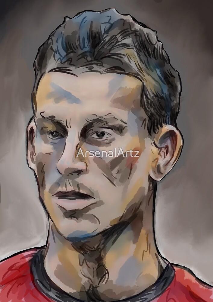 Laurent Koscielny by ArsenalArtz