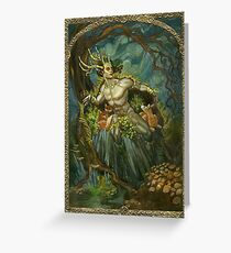 Elemental of Earth & Protection Greeting Card