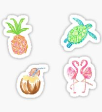 Lilly stickers Sticker