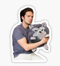 Sebastian Stan being cute Sticker