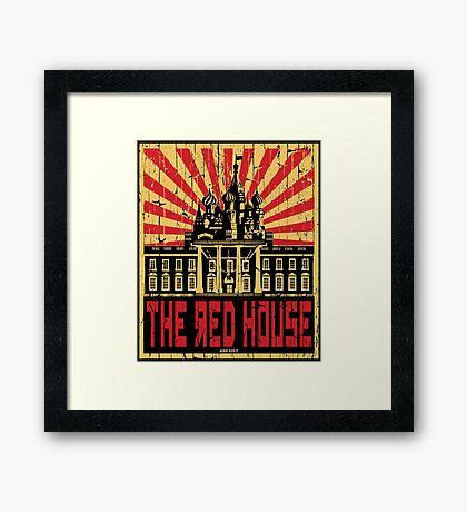 Vintage The Red House Framed Print