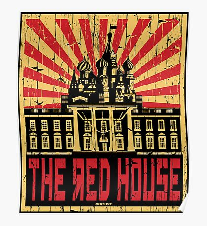 Vintage The Red House Poster