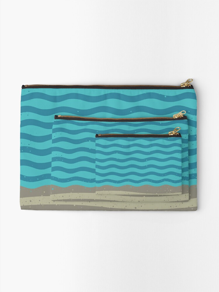 Alternate view of A SHORE THING Zipper Pouch