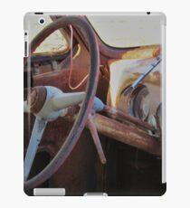 Abandoned ambulance iPad Case/Skin