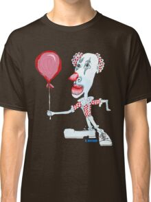 Circus Clown w. Red Ballon Classic T-Shirt