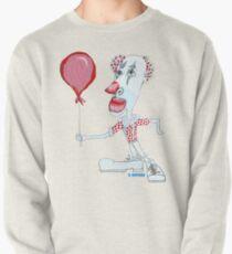 Circus Clown w. Red Ballon Pullover