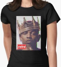 Kendrick Lamar - Retro  Womens Fitted T-Shirt