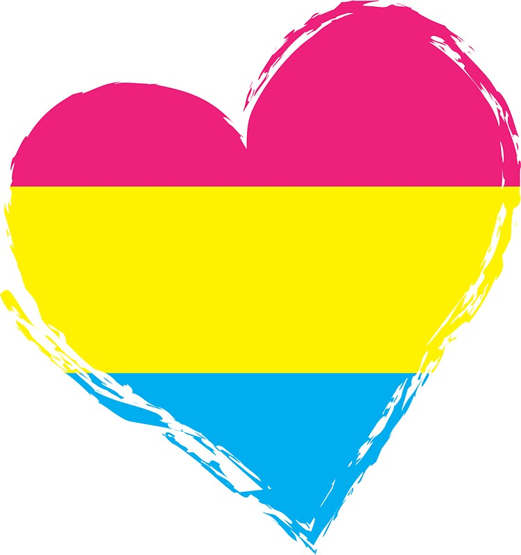 Image result for pansexuality heart