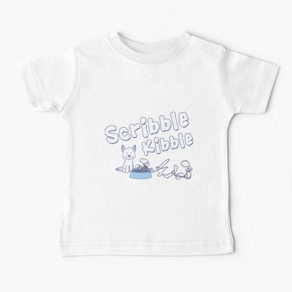 Scribble Kibble Logo Baby T-Shirt