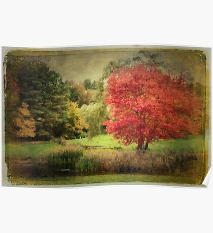 Antique Autumn Poster