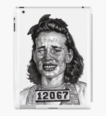 Wowie Zowie!!! Arrested For A Cat Fight At The Roller Rink iPad Case/Skin