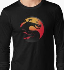 Trogdor Kombat Long Sleeve T-Shirt