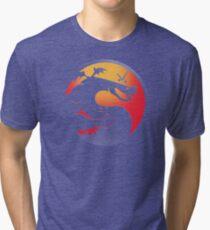 Trogdor Kombat Tri-blend T-Shirt