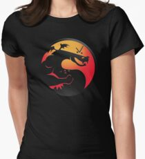 Trogdor Kombat Women's Fitted T-Shirt