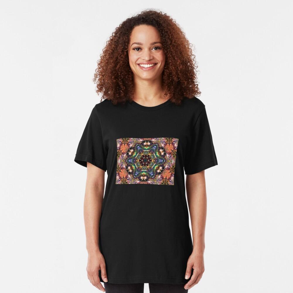 Water Kaleidoscope5 Slim Fit T-Shirt