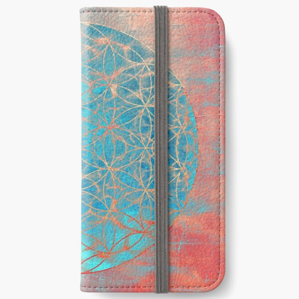 Flower of Life iPhone Wallet