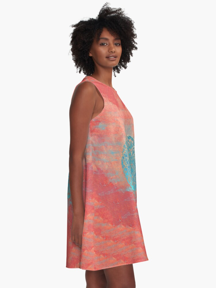 Alternate view of Flower of Life A-Line Dress