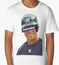 Aaron Judge - Overruled  Long T-Shirt