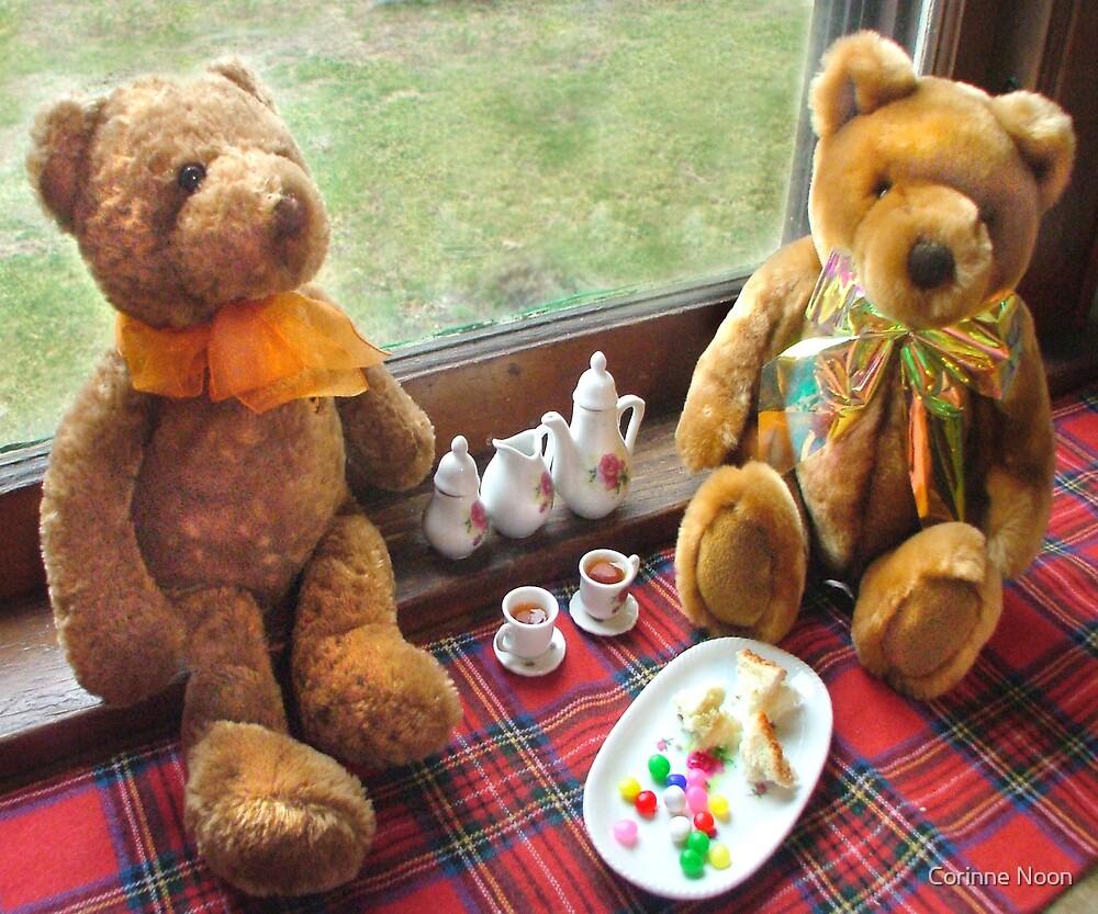 Teddy Bear tea by Corinne Noon