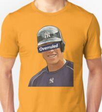 Aaron Judge - Overruled  Unisex T-Shirt