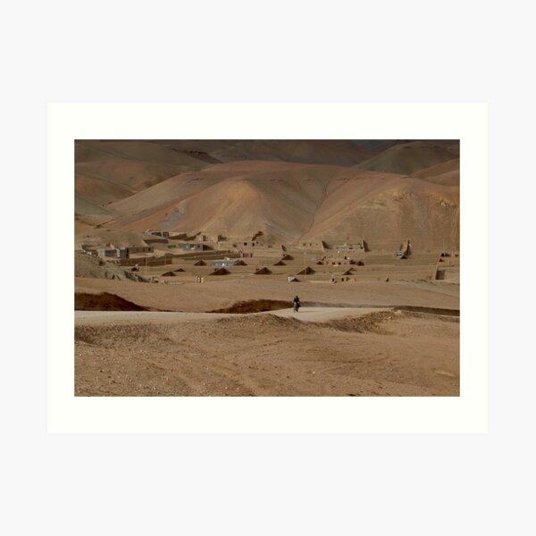 Village Afghanistan Art Print