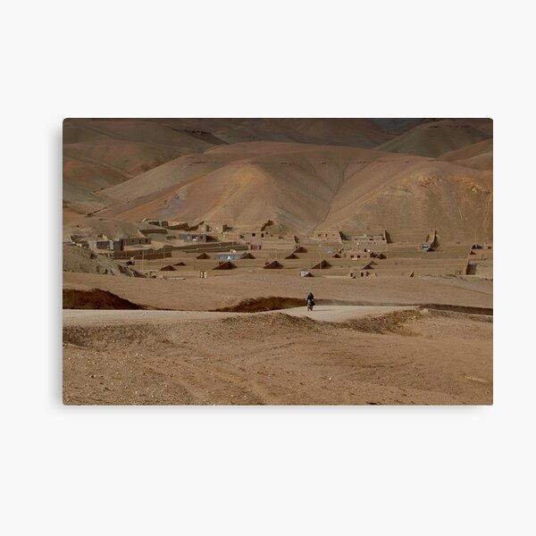 Village Afghanistan Canvas Print