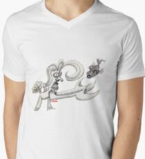 Pisces Rising Men's V-Neck T-Shirt