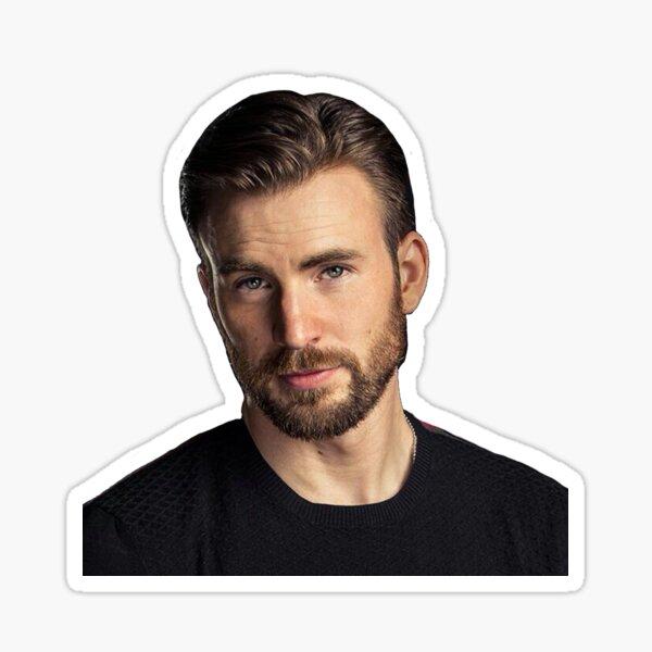 Chris Evans being hot Sticker