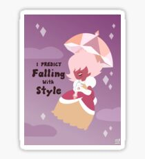 Falling with Style Sticker