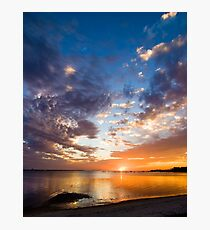 Reflecting Colors Photographic Print