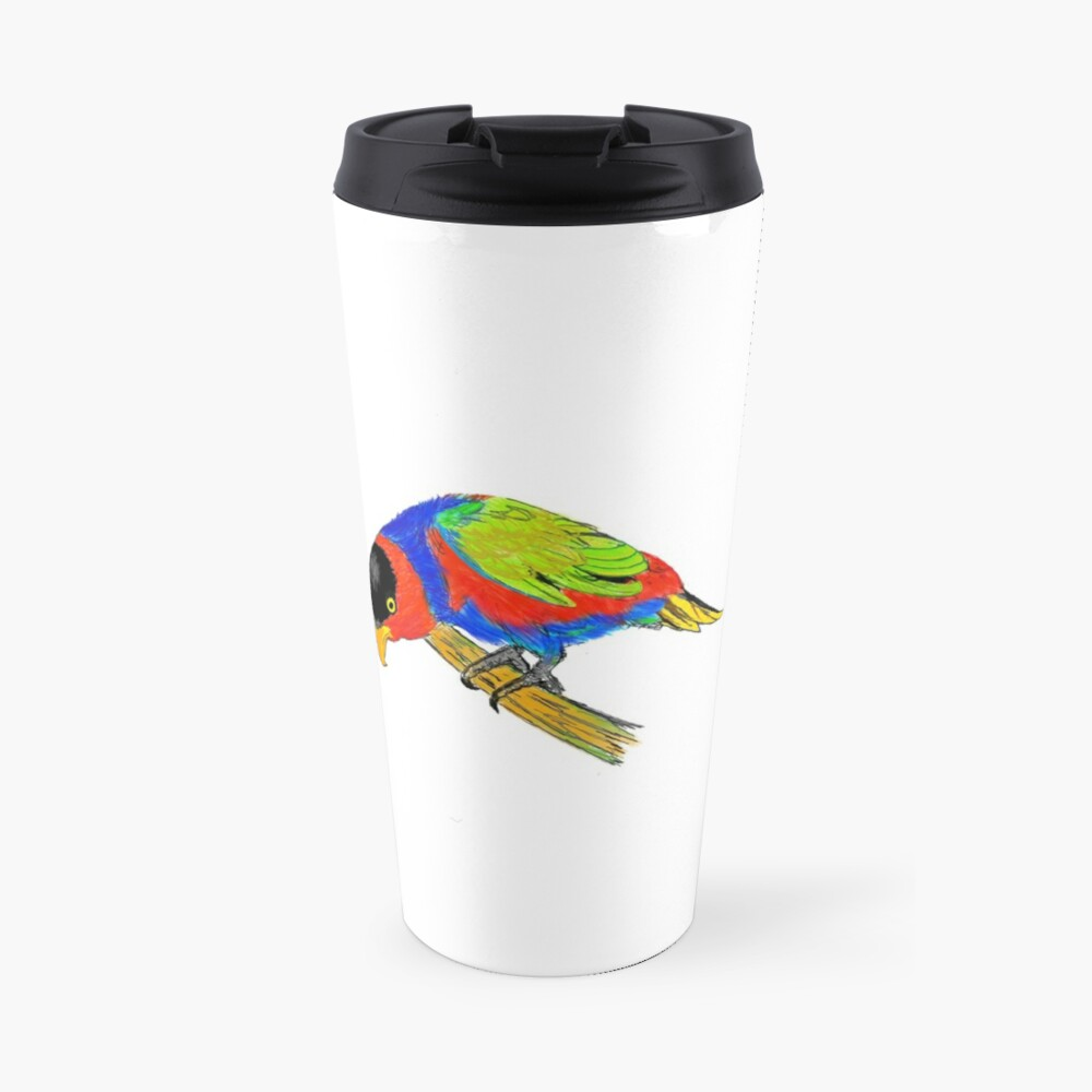 Black-capped Lory Travel Mug