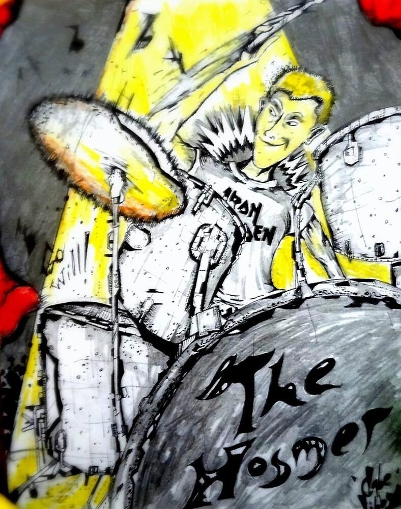 The Drummer by GabeTheArtist
