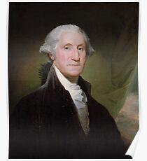 George Washington Painting Poster