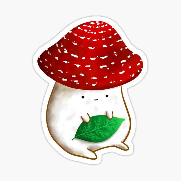 Mushroom Friend Sticker